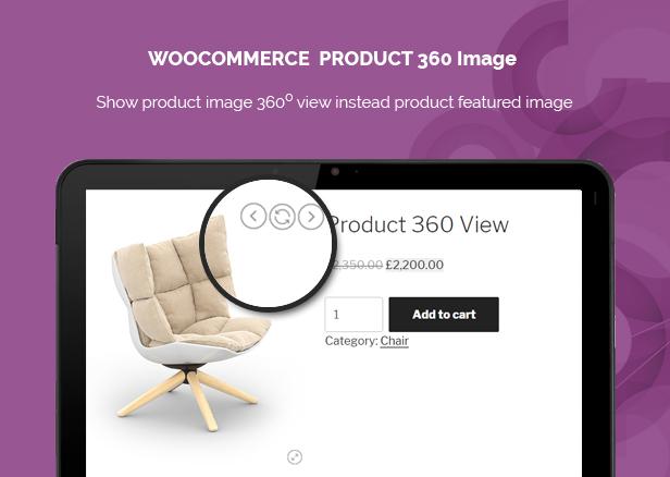 WooCommerce Product 360 Image 1
