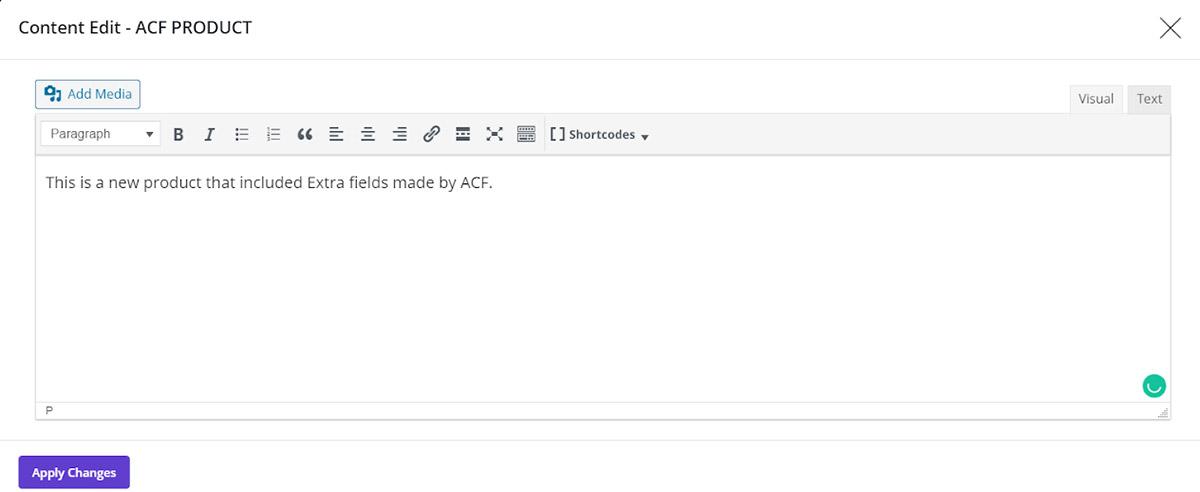 bulk edit product content in woocomemrce bulk products editing plugin