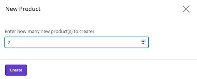 Create new product in Woocommerce bulk edit plugin