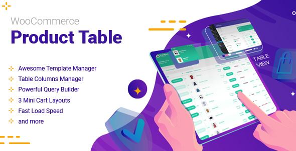 WooCommerce Product Table Documentation
