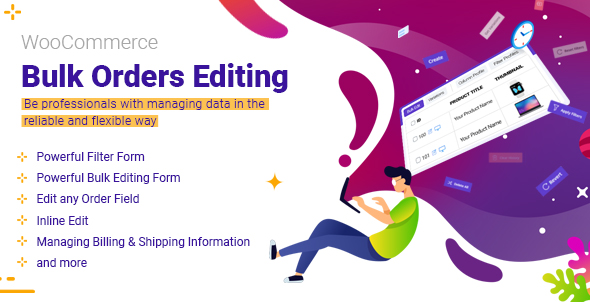 woocommerce bulk orders editing plugin