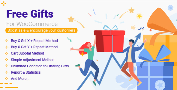 free gift products for woocommerce