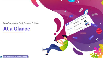 woocommerce bulk product editing at a galance video