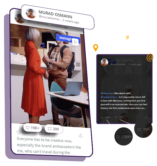 social feed assistant - look like you want