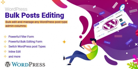 WordPress Bulk Posts Editing