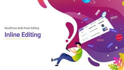 WordPress bulk Post editing inline edit tutorial video