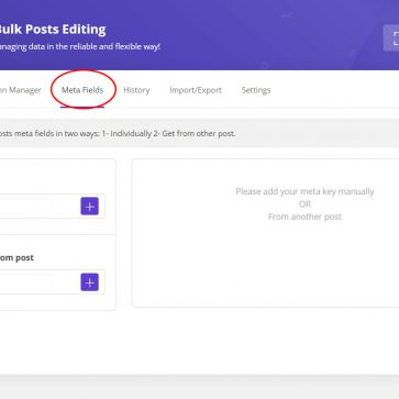 wordpress bulk posts edit meta fields