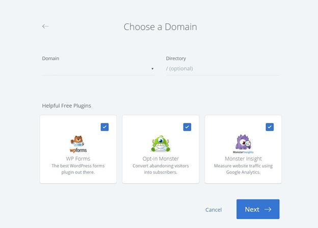 Choosing your domain name