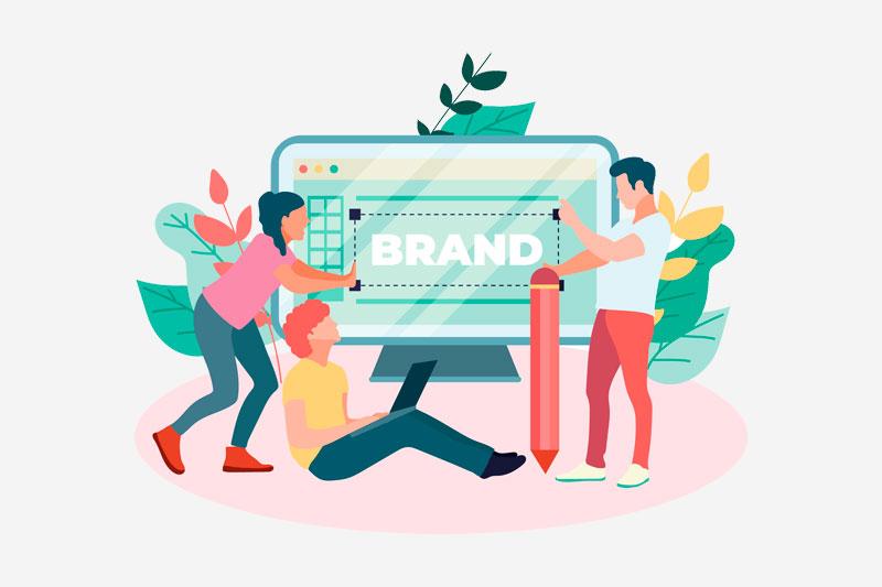 e-commerce for developing brand