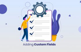 how to add custom field