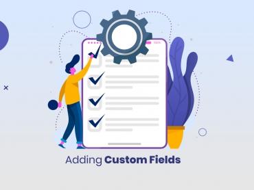 how to add custom field