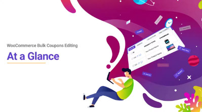 woocommerce bulk coupons editing at a glance video tutorial