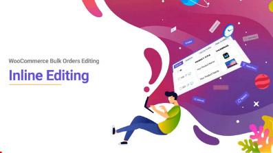 woocommerce bulk orders editing inline editing
