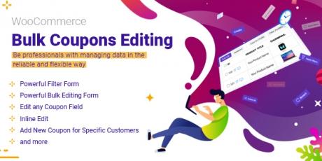 WooCommerce Bulk Coupons Editing Plugin