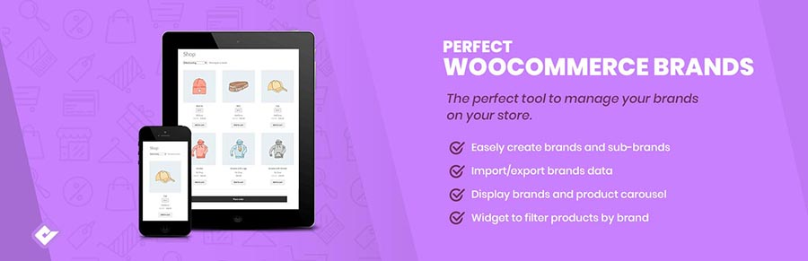 woocommerce product table compatible perfect brand