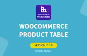woocommerce product table new update 2.0.0