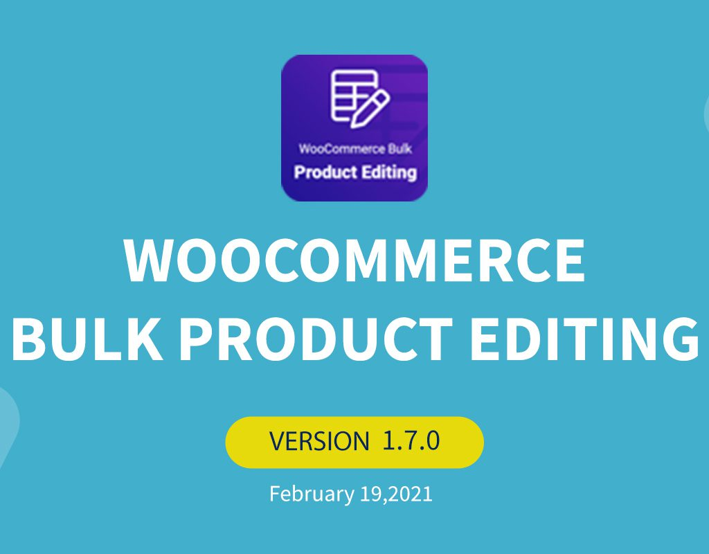 woocommerce bulk product editing v1-7-0