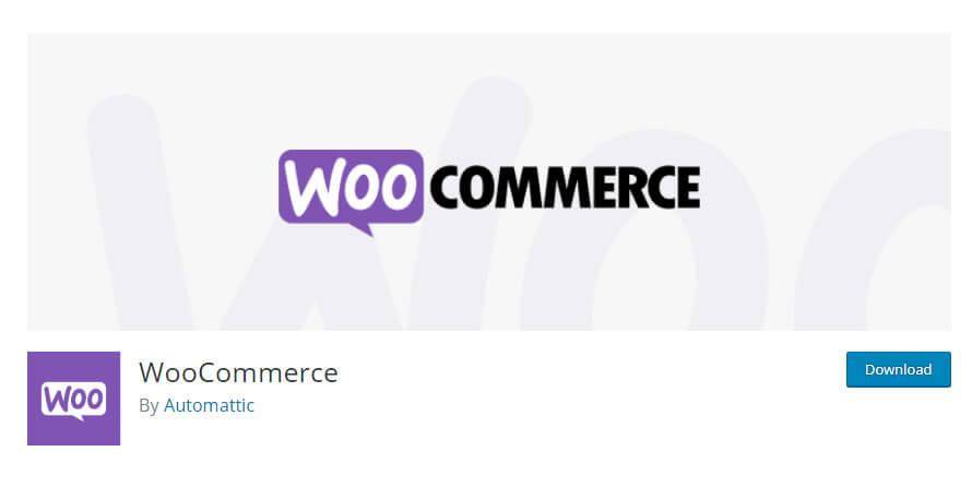 WooCommerce plugin in WordPress