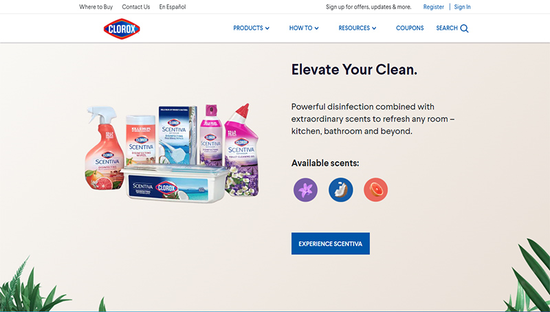The Clorox Company by wordpress