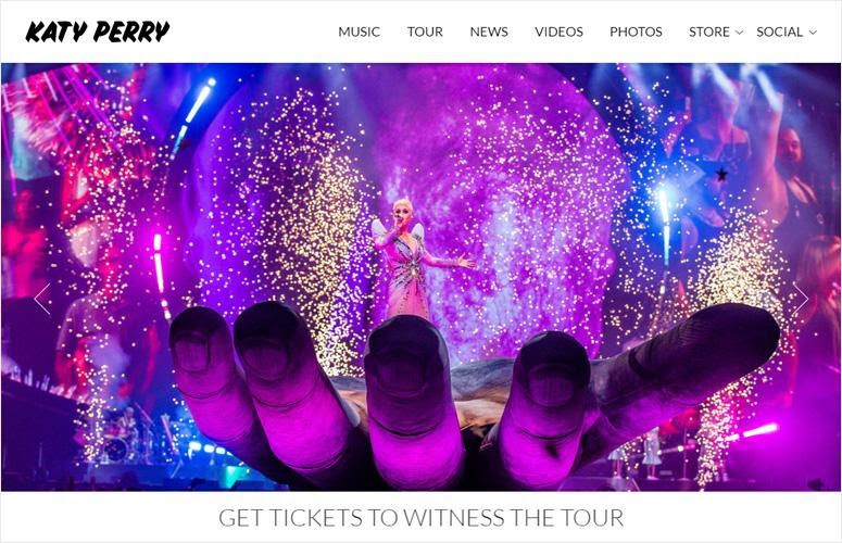 Katy Perry by wordpress