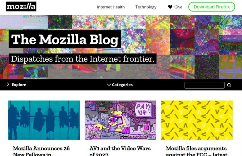 The Mozilla Blog by WordPress