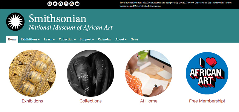 Smithsonian National Museum Of African Art by wordpress