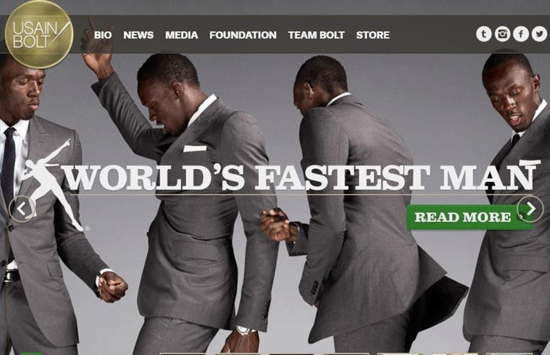 Usain Bolt by wordpress