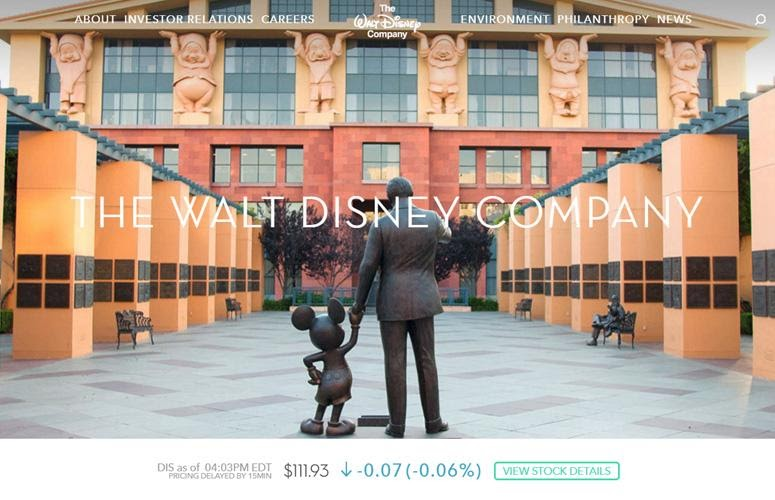 The Walt Disney Company by wordpress