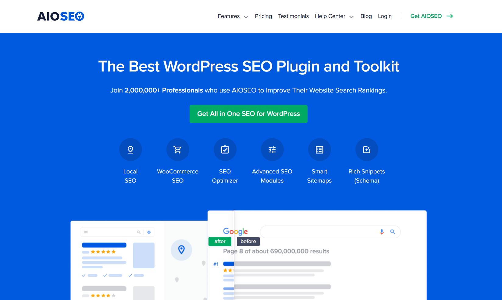 All in One SEO plugin us the best WordPress SEO plugin
