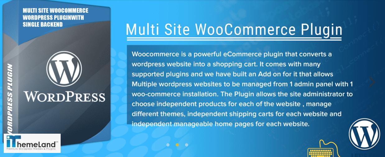 WordPress Multisite Plugin for WooCommerce