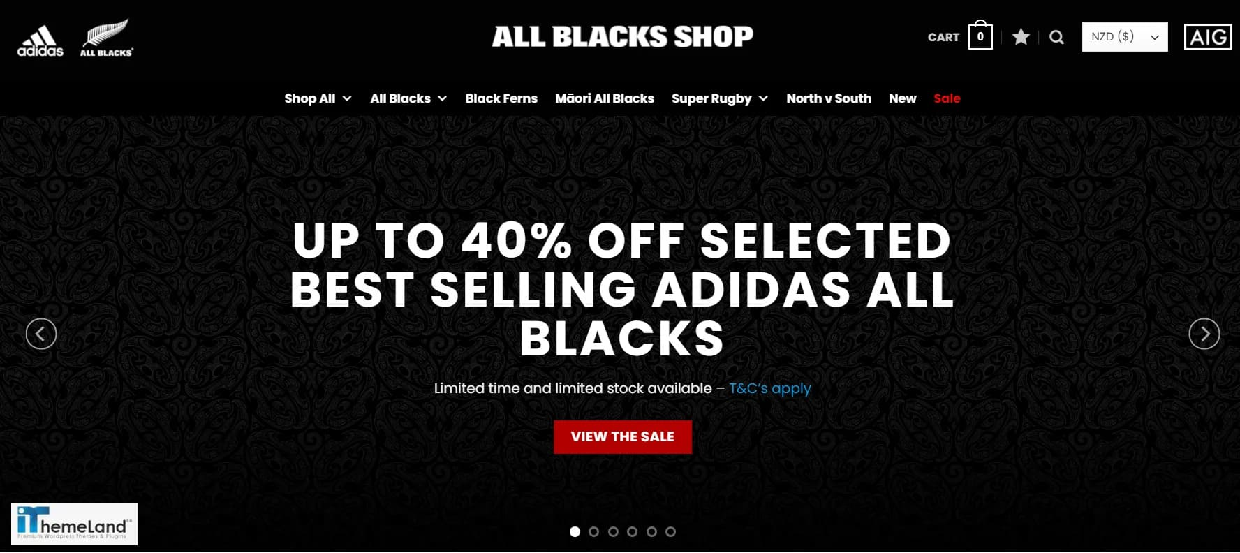 all black store