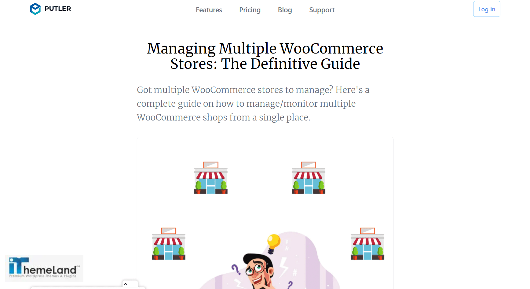 pluter plugin for managing multiple WooCommerce stores