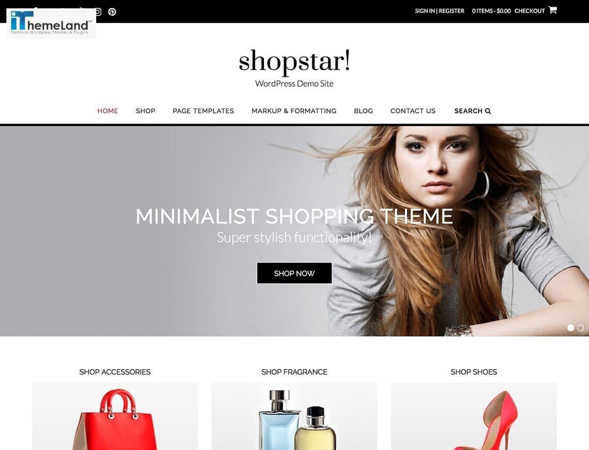 Shopstar woocommerce theme