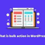 Everything you need to know about  bulk actions in WordPress