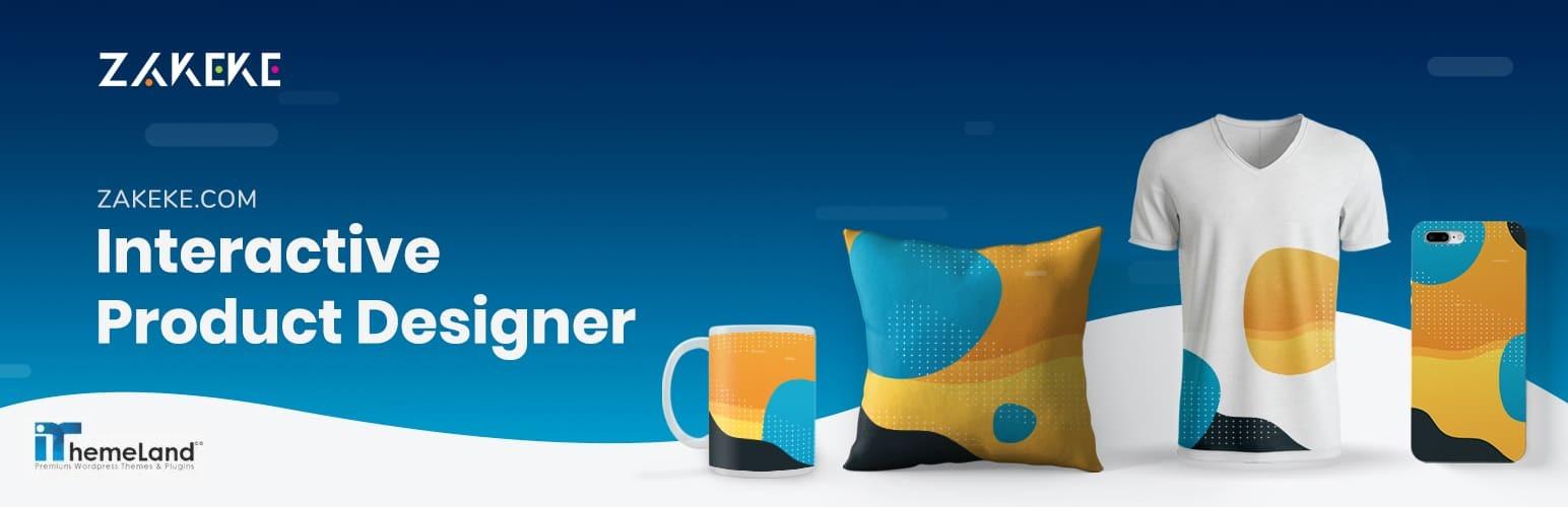 zakeke interactive product designer