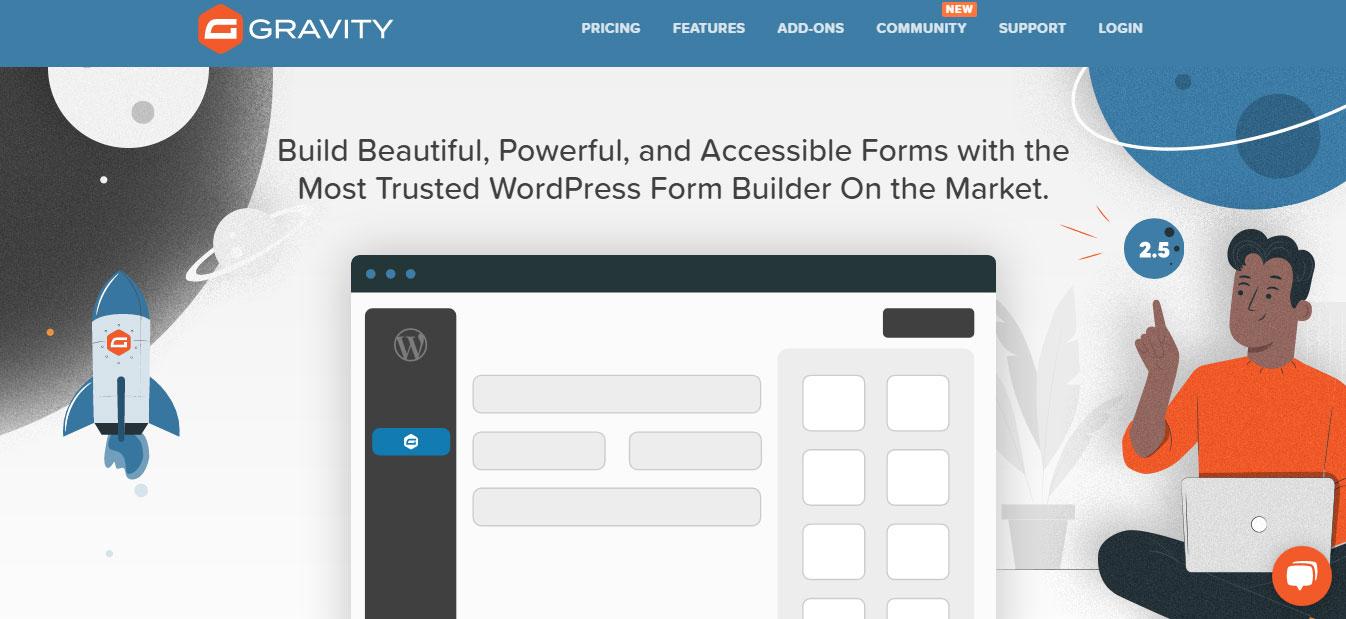 gravity form plugin for wordpress