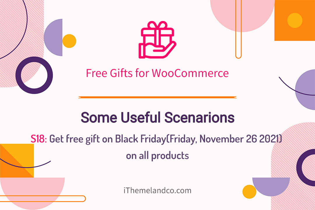 Get free gift on Black Friday(Friday, November 26 2021) on all products