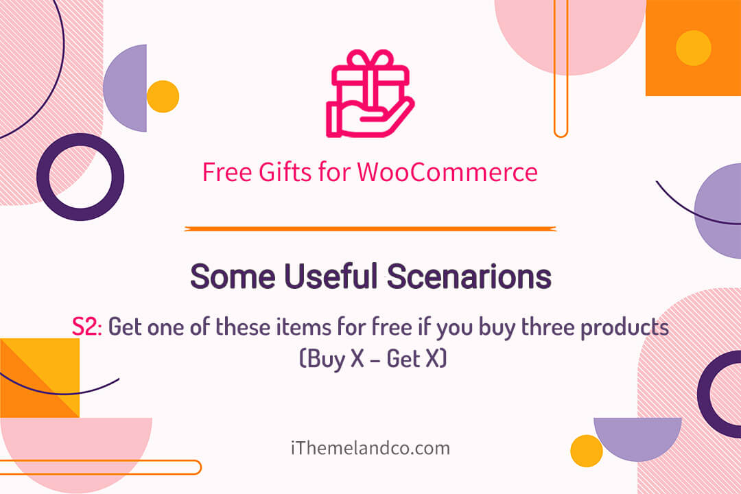 Get one of these items for free if you buy three products