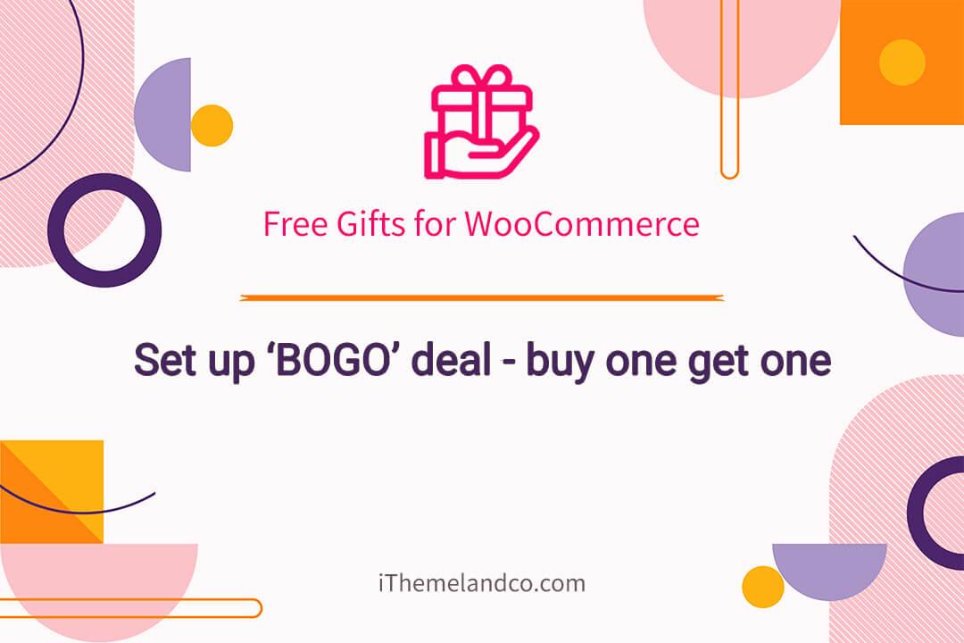woocommerce free gift BOGO deal video