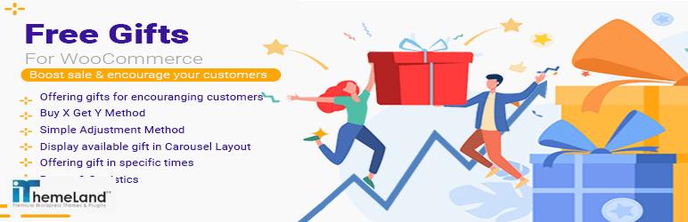 iThemelandco free gift for WooCommerce