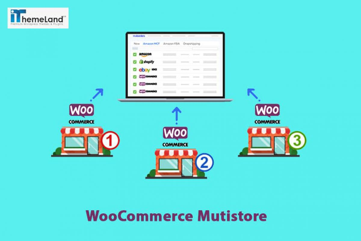 How to manage multiple WooCommerce store?